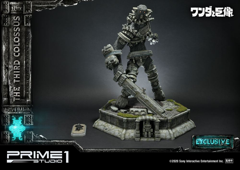 Shadow of the Colossus Statue The Third Colossus Exclusive 56 cm