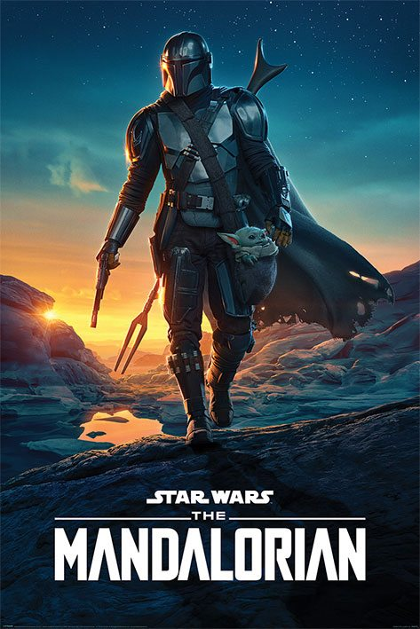 Star Wars The Mandalorian Poster Pack Nightfall 61 x 91 cm (5)