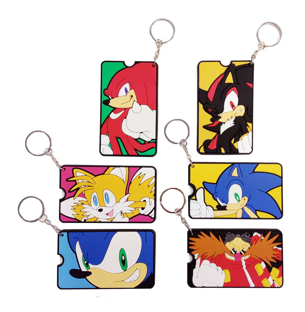 Sonic The Hedgehog Gacha Bag Tags Mystery Bags Display (12)