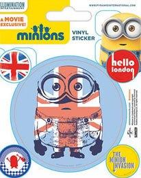 Minions Vinyl Sticker Pack (10) London