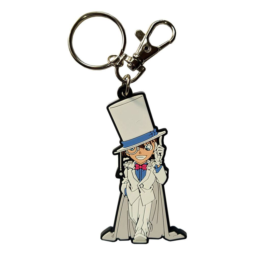 Magic Kaito: Kid the Phantom Thief Rubber Keychain Kaito Kid 7 cm