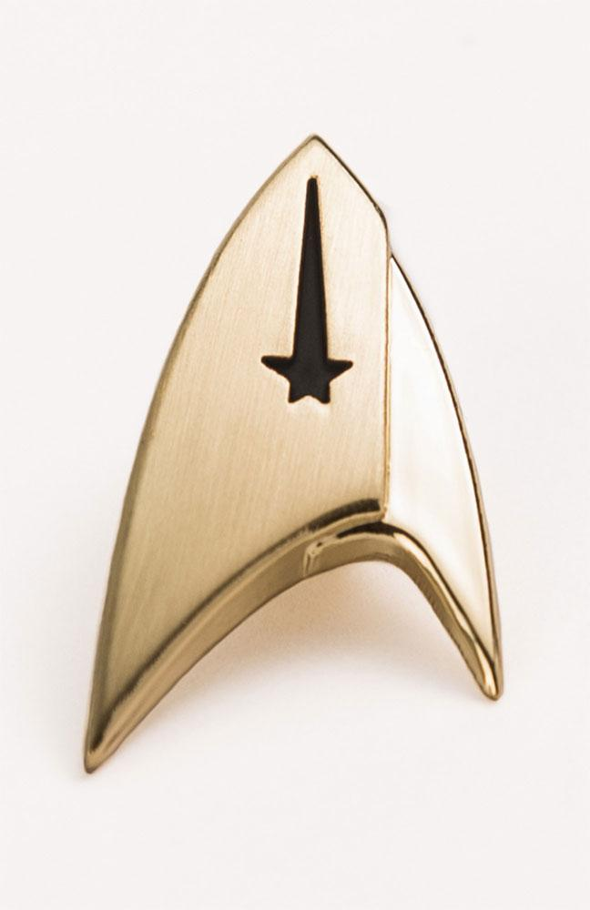 Star Trek Discovery Lapel Pin Command Badge