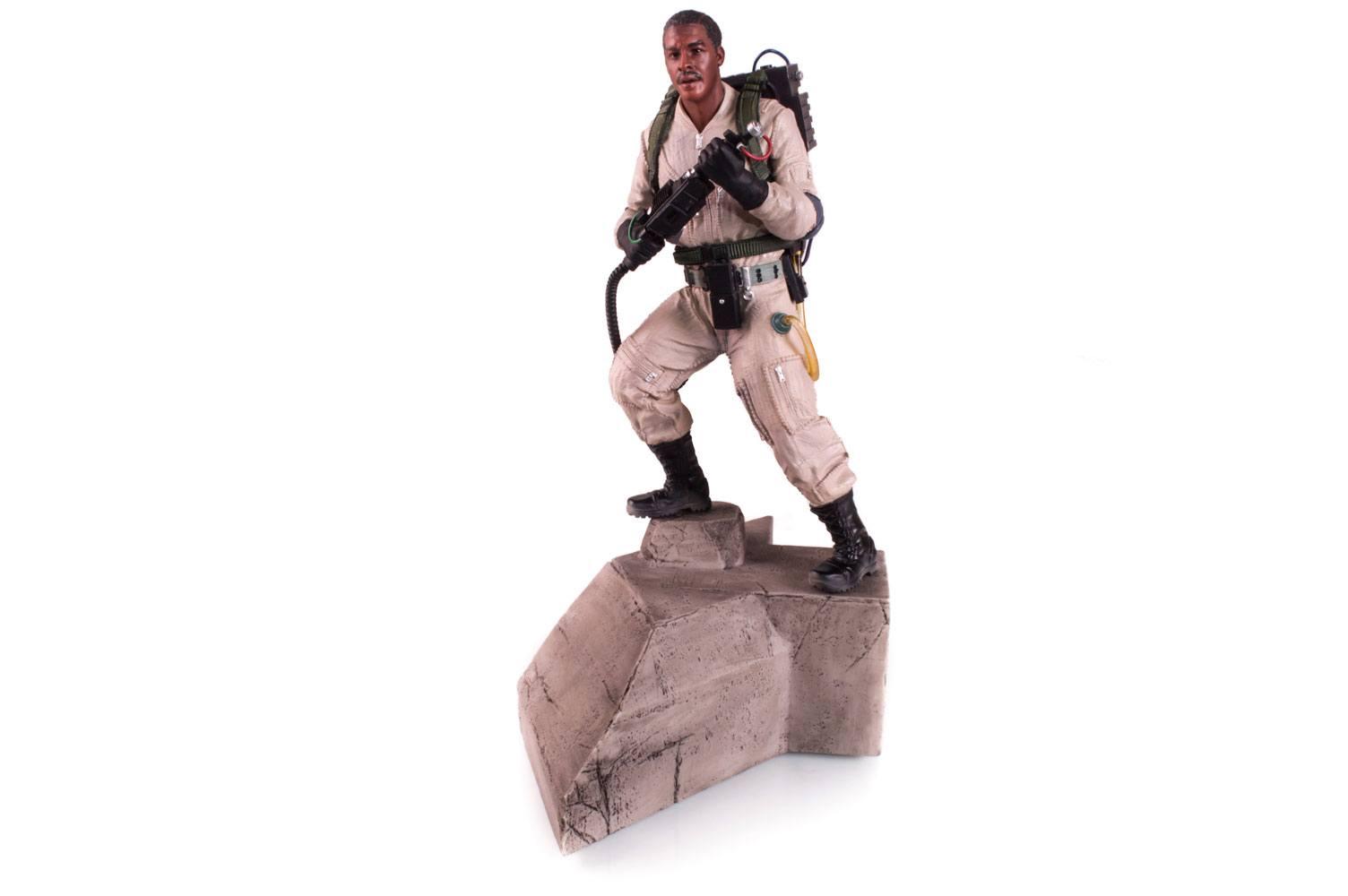 Ghostbusters Statue 1/10 Winston Zeddemore 24 cm
