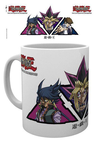 Yu-Gi-Oh! Mug DSOD Triangles