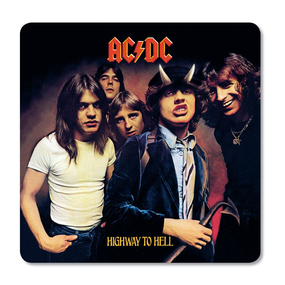 AC/DC Coaster Pack Highway To Hell (6)