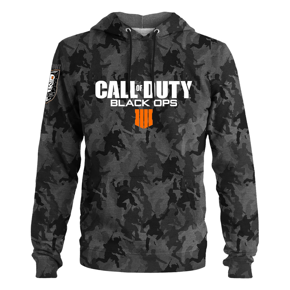 Call of Duty Black Ops 4 Hooded Sweater Camo Size M