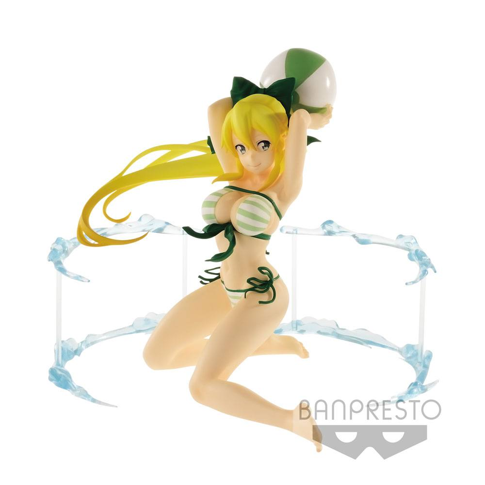 Sword Art Online Code Register EXQ Figure Aqua Sylphide Leafa 16 cm