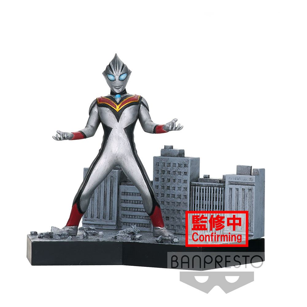 Ultraman Tiga Special Effects Stagement #44 PVC Statue Evil Tiga 5 cm