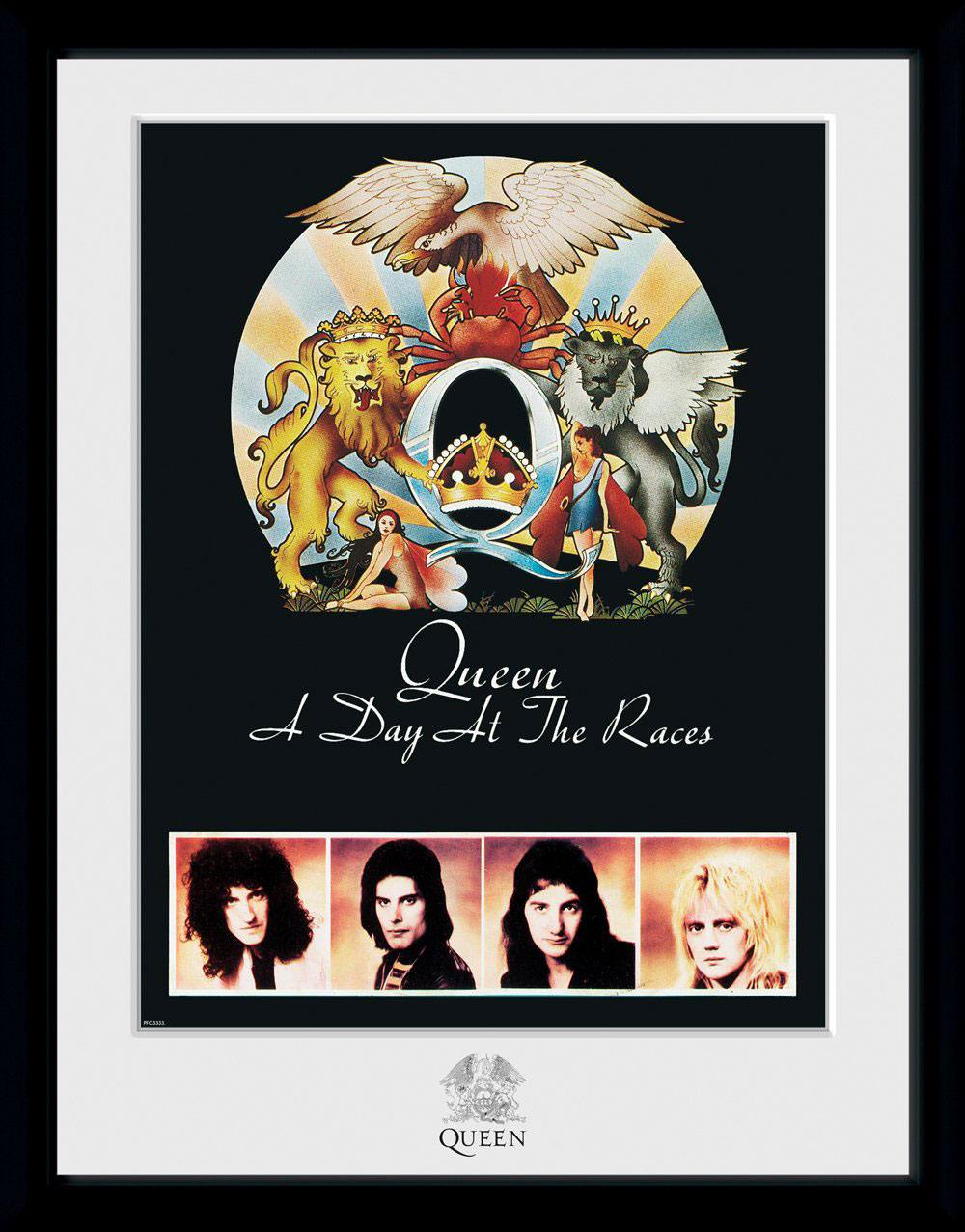 Queen Framed Poster Day At The Races (Bravado)
