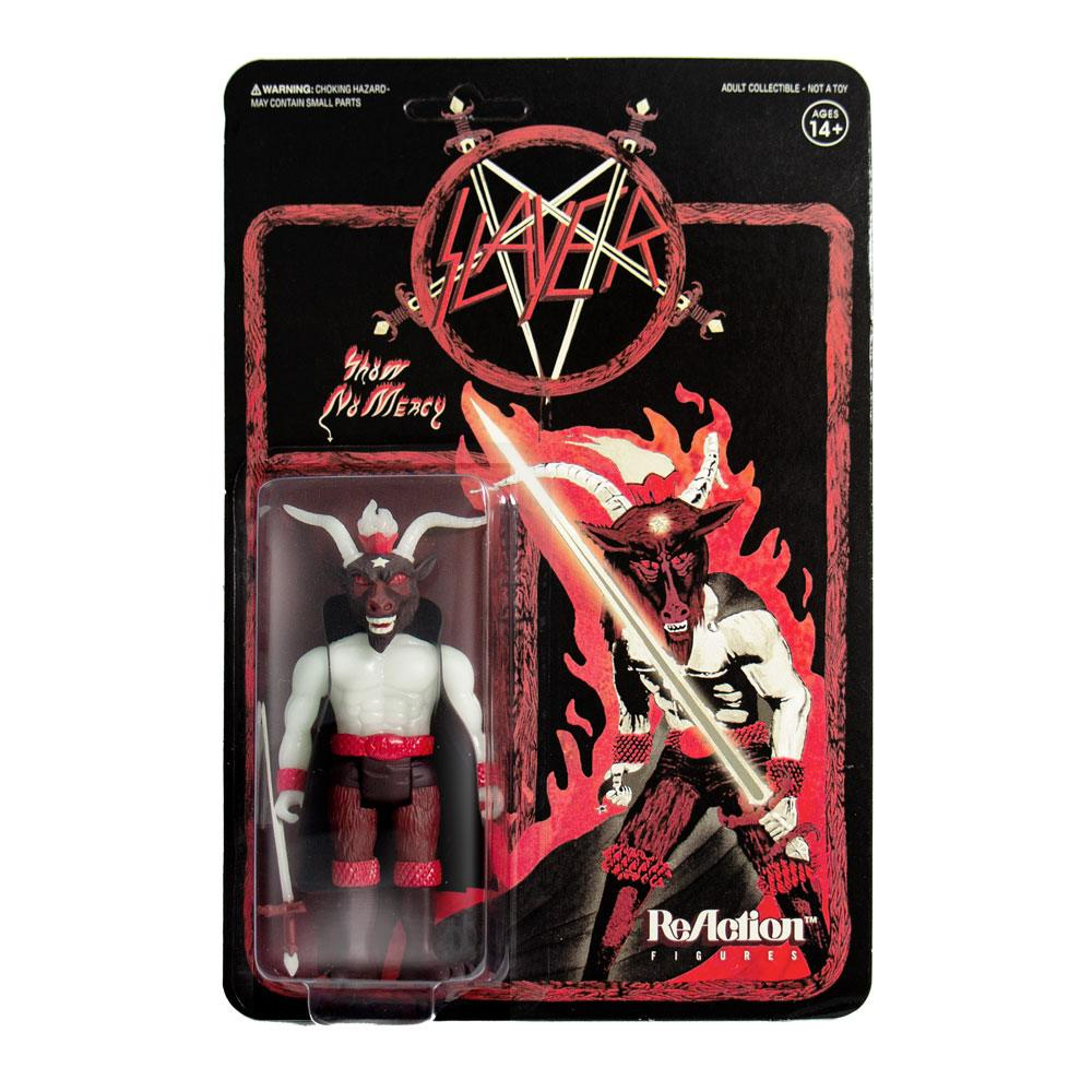 Slayer ReAction Action Figure Minotaur Glow In The Dark 10 cm