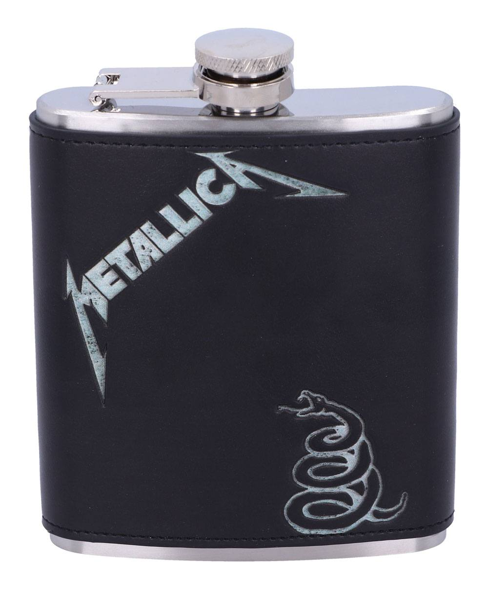 Metallica Hip Flask The Black Album