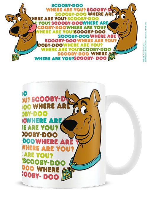 Scooby Doo Mug Where are you?