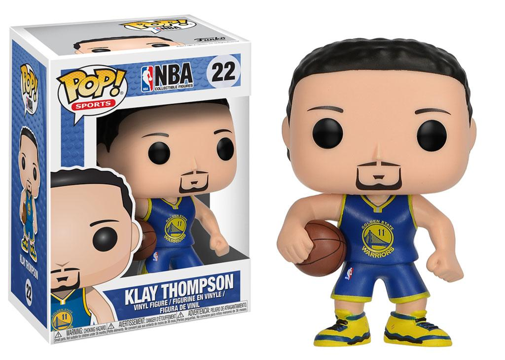 NBA POP! Sports Vinyl Figure Klay Thompson (Golden State Warriors) 9 cm