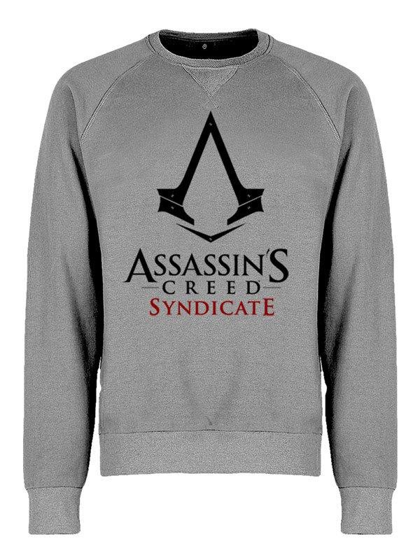 Assassins's Creed Syndicate Sweatshirt Logo Grey Size L