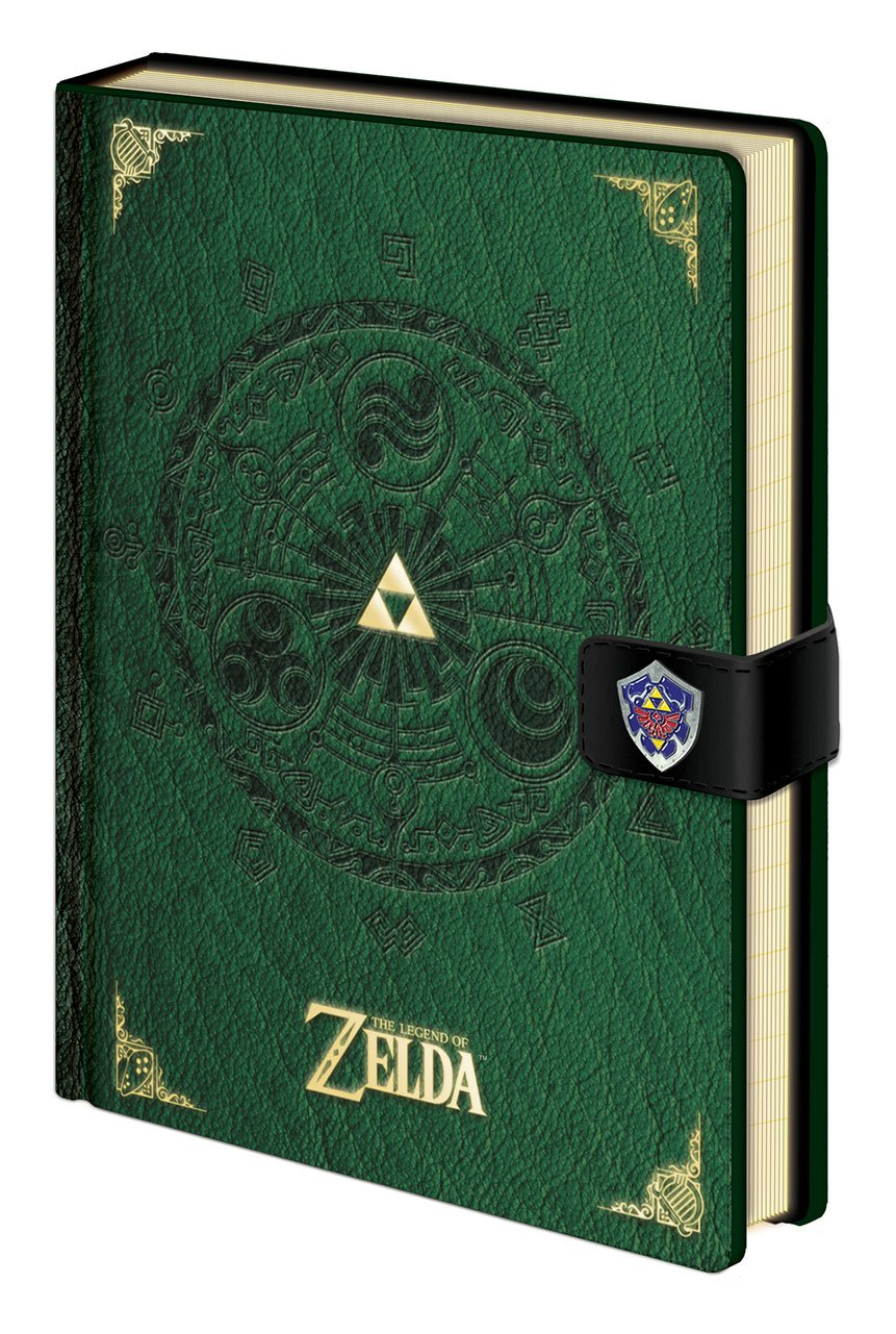 Legend of Zelda Premium Notebook A5 Triforce New Version