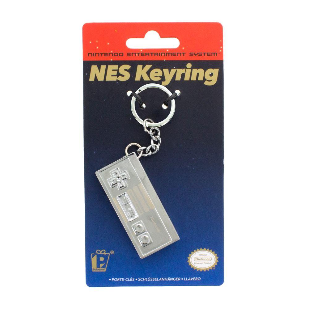 Nintendo 3D Metal Keychain NES Controller 6 cm