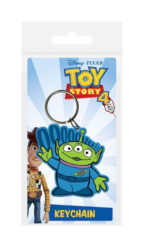 Toy Story 4 Rubber Keychain Alien 6 cm