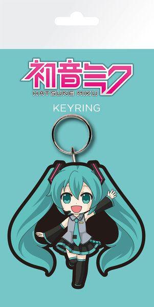 Hatsune Miku Rubber Keychain Hatsune 7 cm