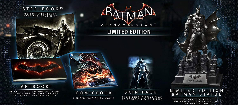 Batman Arkham Knight Limited Edition Collectors Set