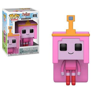Adventure Time / Minecraft POP! Television Vinyl Figure Princess Bubblegume 9 cm