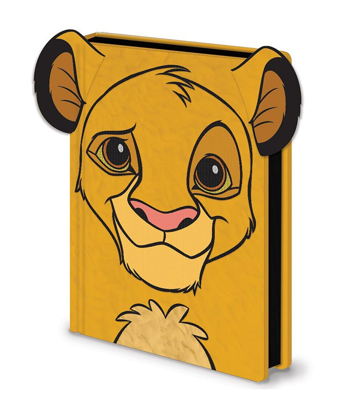 The Lion King Premium Notebook A5 Simba Furry