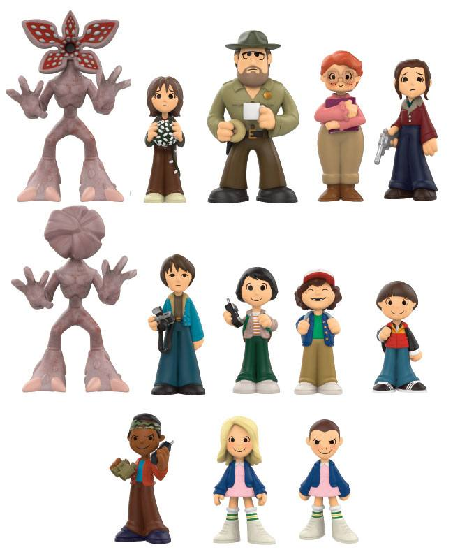 Stranger Things Mystery Mini Figures 6 cm Display (12)