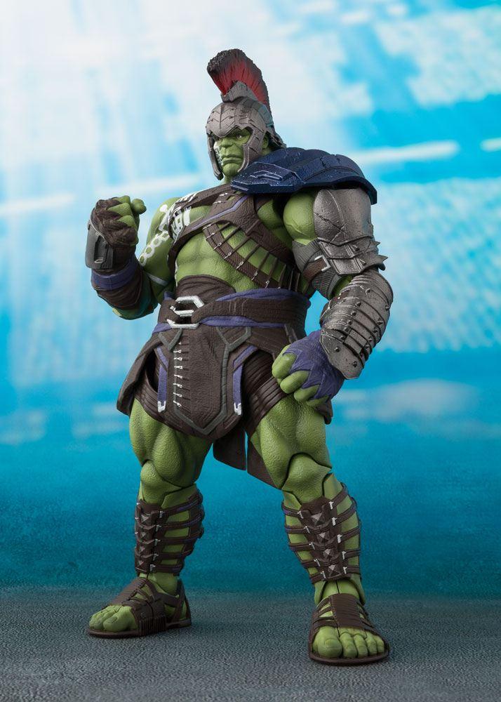 Thor Ragnarok S.H. Figuarts Action Figure Hulk Tamashii Web Exclusive 21 cm
