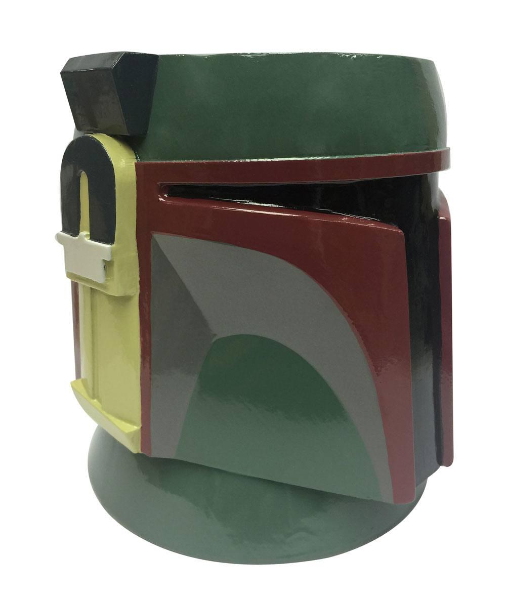 Star Wars Plant Pot Coloured Boba Fett 25 cm