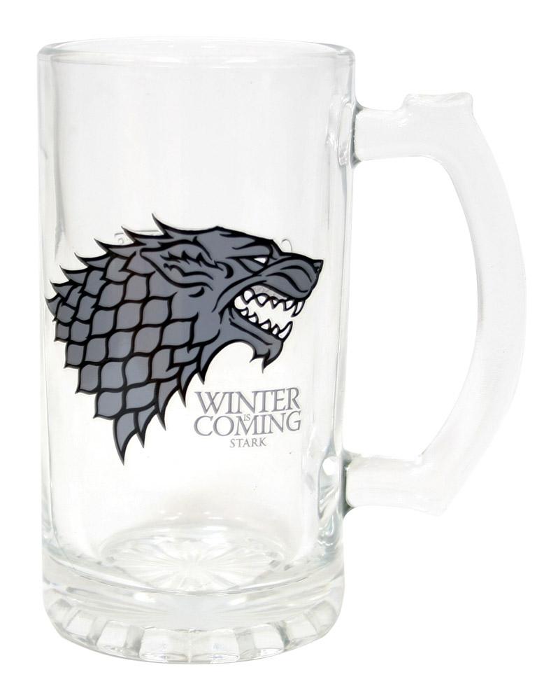 Game of Thrones Beer Glass Stark