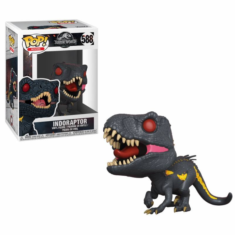 Jurrasic World 2 POP! Movies Vinyl Figure Indoraptor 9 cm