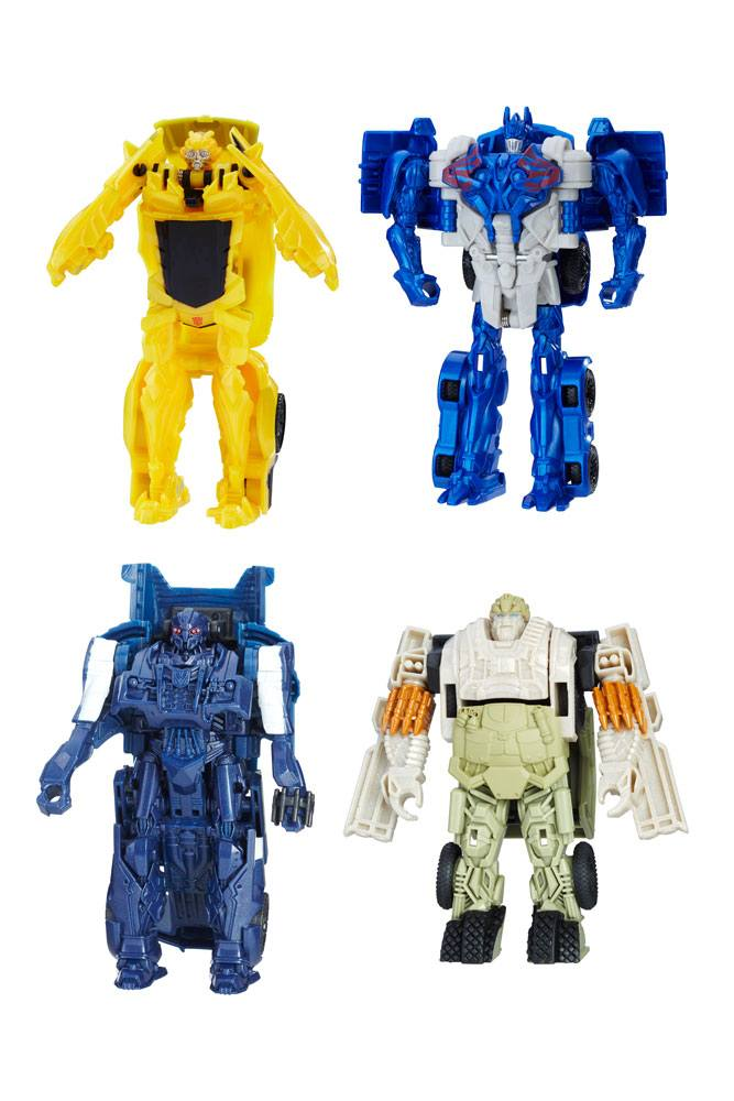 Transformers The Last Knight Turbo Changers Action Figures 11 cm 2017 Wave 1 Sortiment (8)
