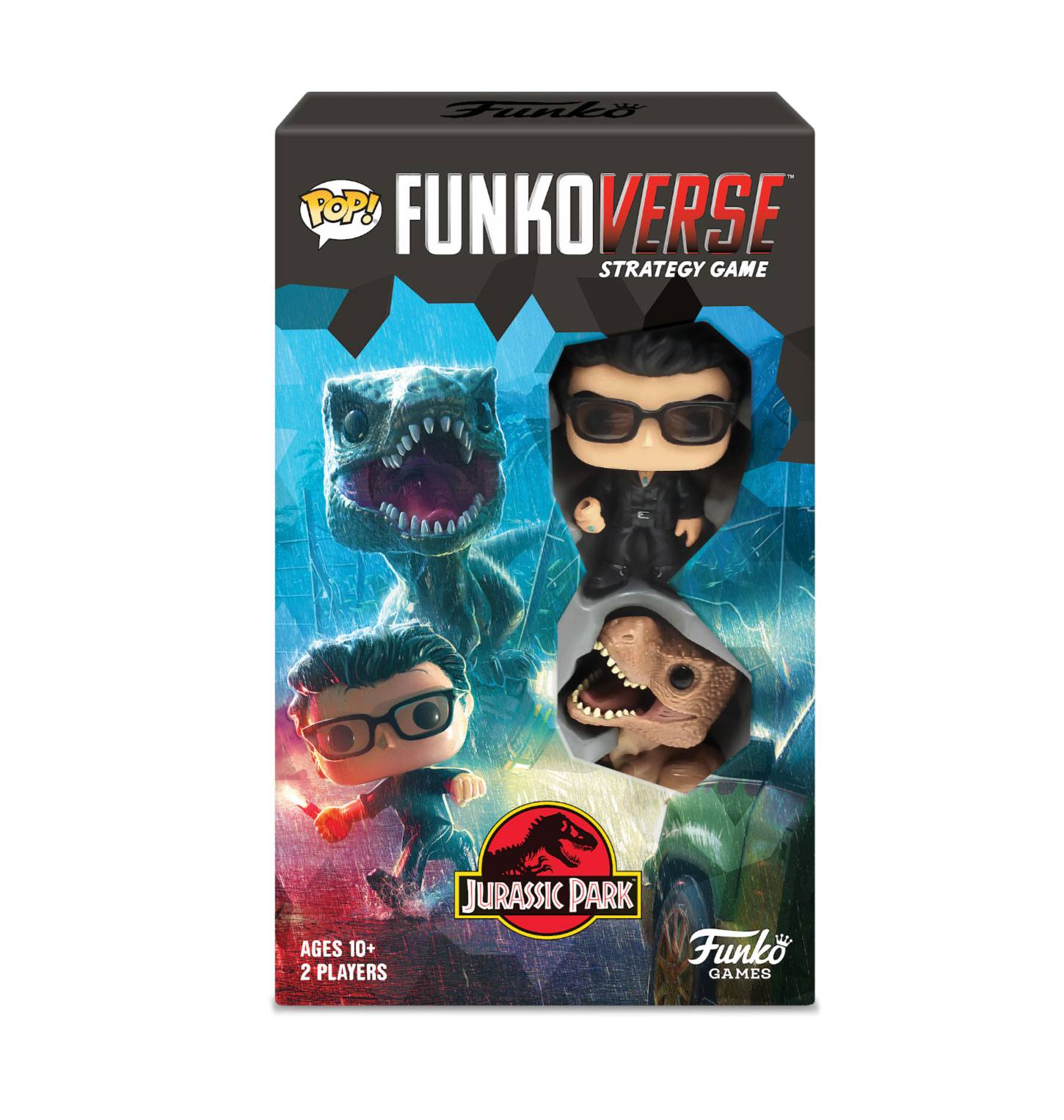 Jurassic Park Funkoverse Board Game 2 Character Expandalone *English Version*