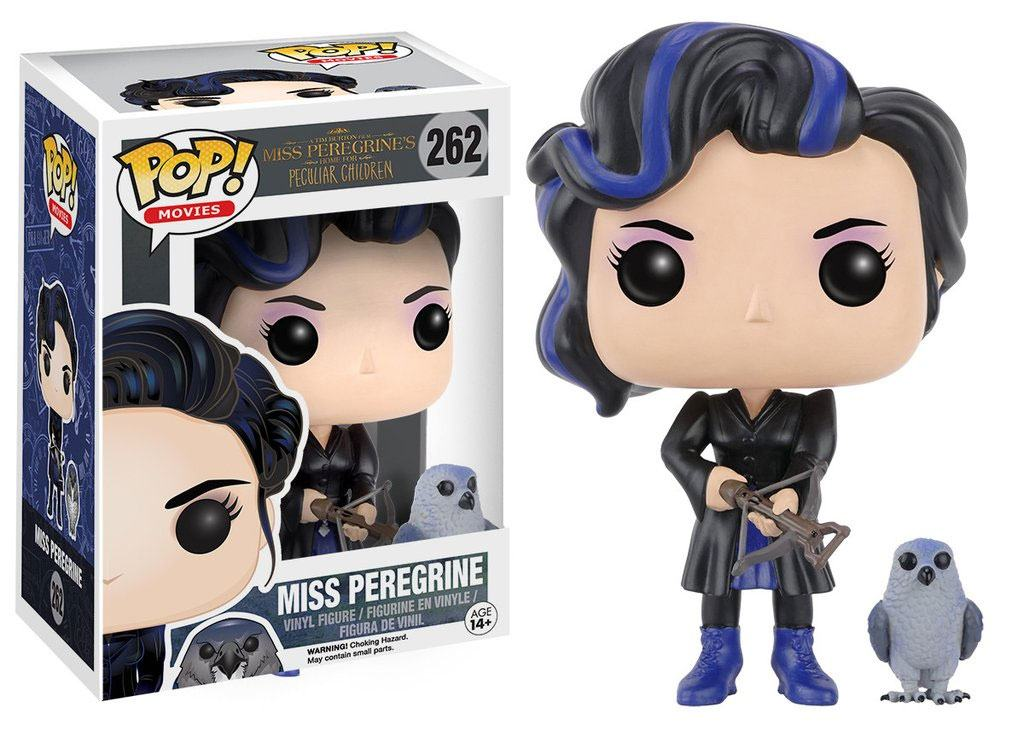 Miss Peregrine's Home for Peculiar Children POP! Movies Vinyl Figure Miss Peregrine 9 cm