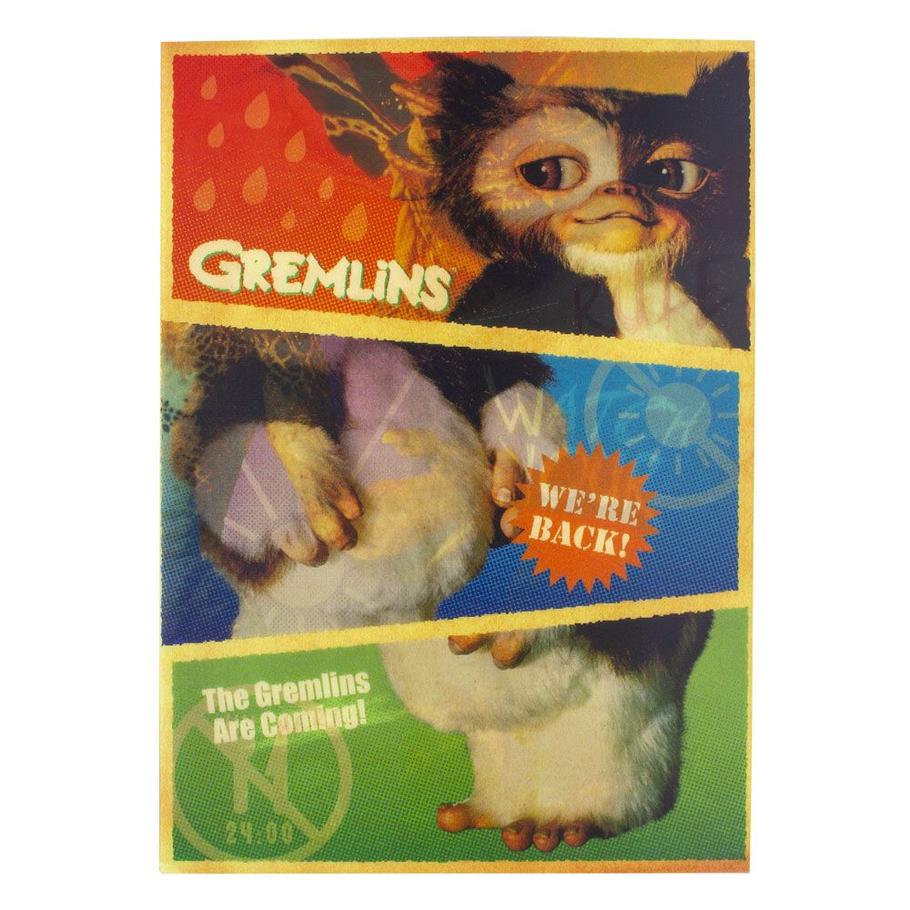 Gremlins Notebook 3D Lenticular Iconic Imagery