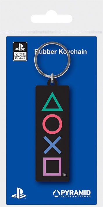 Sony PlayStation Rubber Keychains Shapes 6 cm Case (10)
