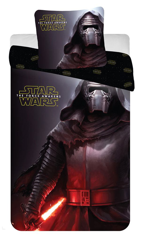 Star Wars Episode VII Duvet Set Kylo Ren 140 x 200 cm / 63 x 63 cm