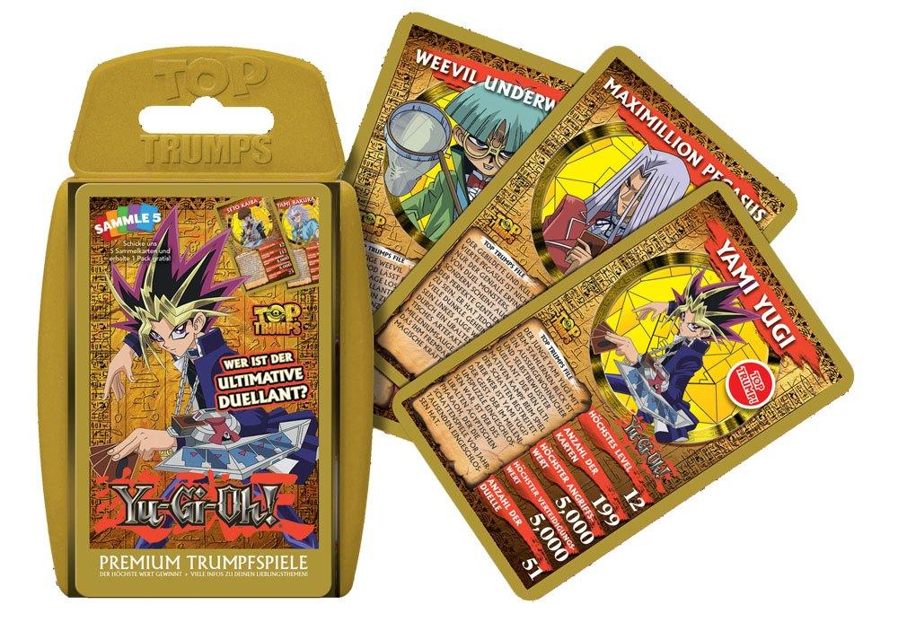 Yu-Gi-Oh! Card Game Top Trumps *German Version*