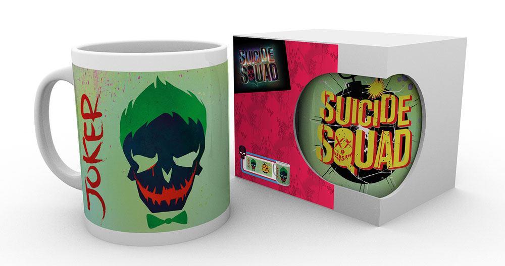 Suicide Squad Mug Joker Skull