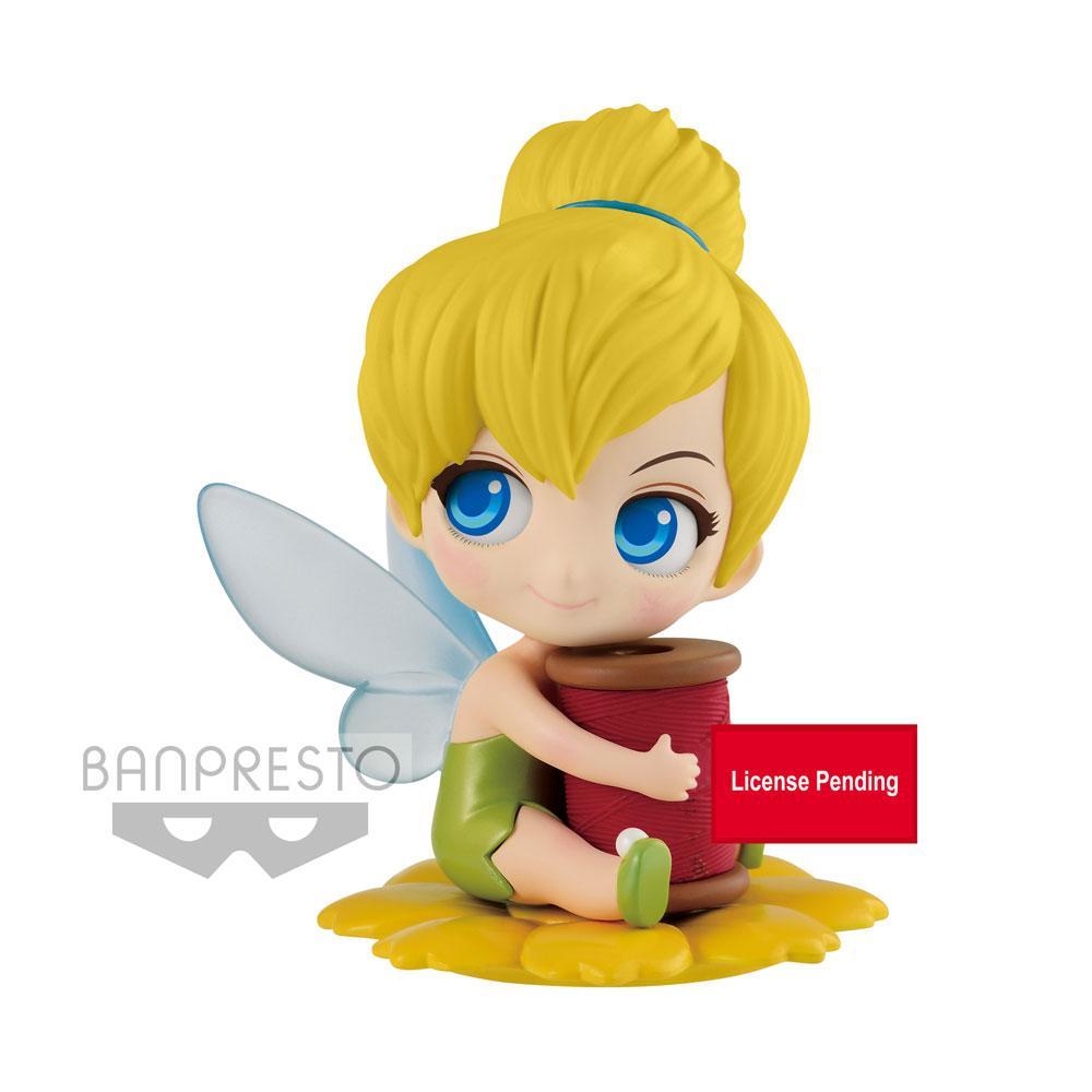 Disney Q Posket Sweetiny Mini Figure Tinker Bell Version A 8 cm