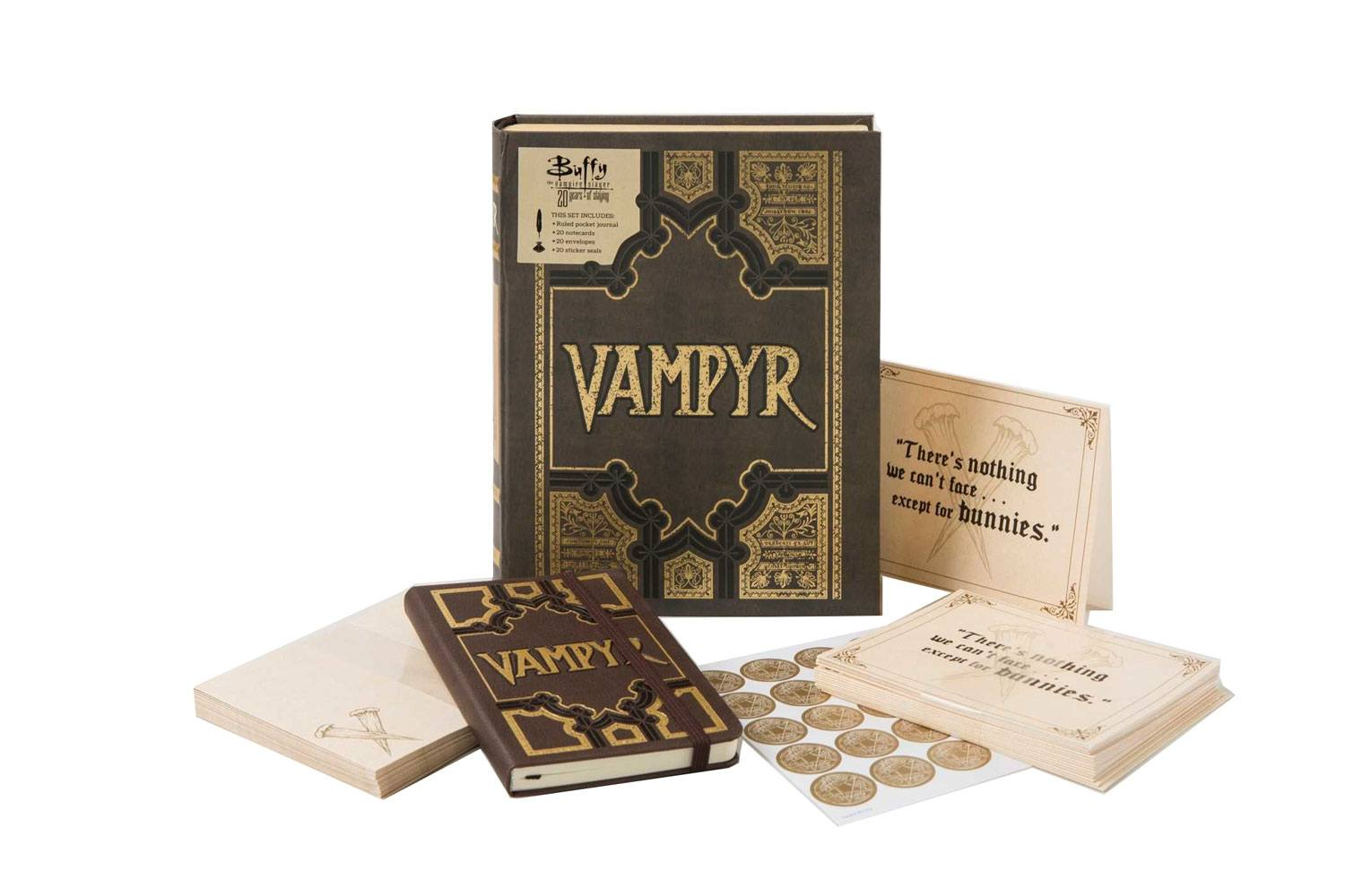Buffy Deluxe Stationery Set Vampyr