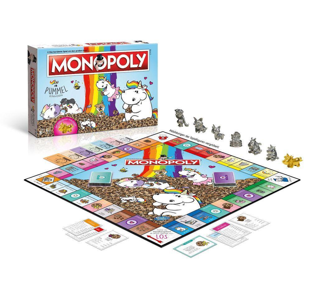 Pummeleinhorn Board Game Monopoly Collector's Edition *German Version*