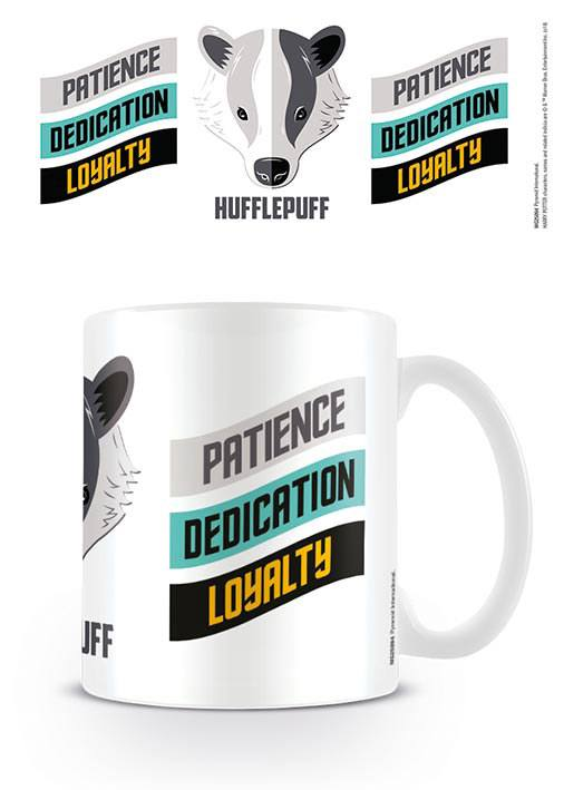 Harry Potter Mug Hufflepuff Traits