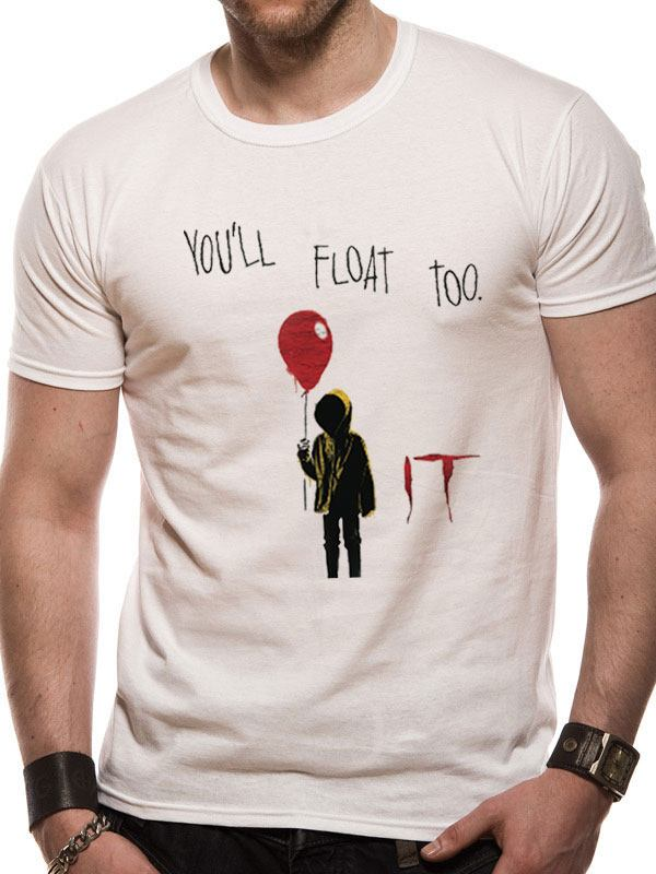 It T-Shirt You'll Float Too  Size L