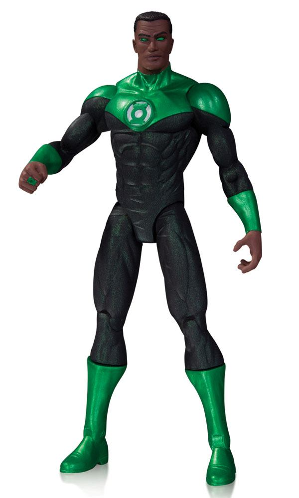 DC Comics The New 52 Action Figure Green Lantern John Stewart 17 cm --- DAMAGED PACKAGING