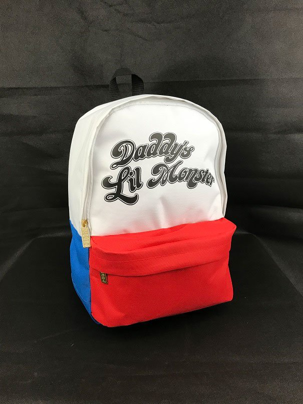 Suicide Squad Backpack Daddy's Lil Monster