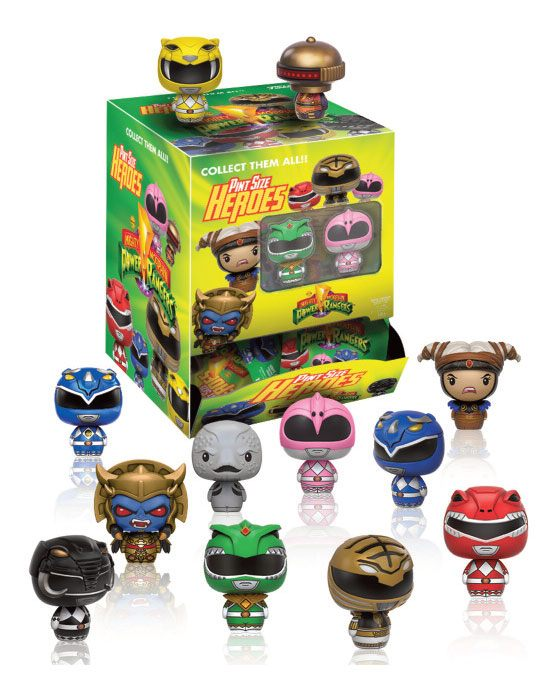 Power Rangers Pint Size Heroes Mini Figures 6 cm Display (24)