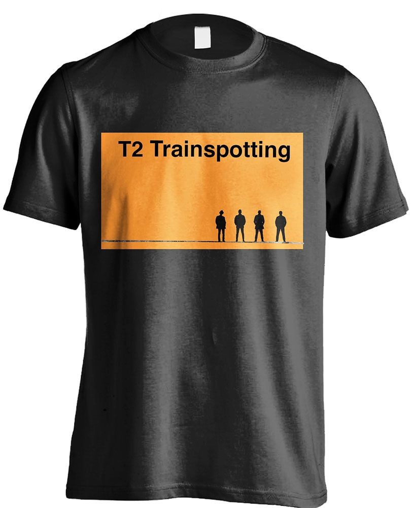 T2 Trainspotting T-Shirt Logo Size S