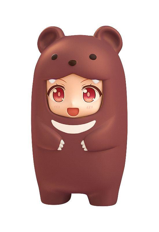 Nendoroid More Face Parts Case for Nendoroid Figures Brown Bear