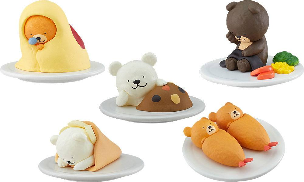 Oyasumi Restaurant Trading Figures 4 cm Mascots Assortment (6)