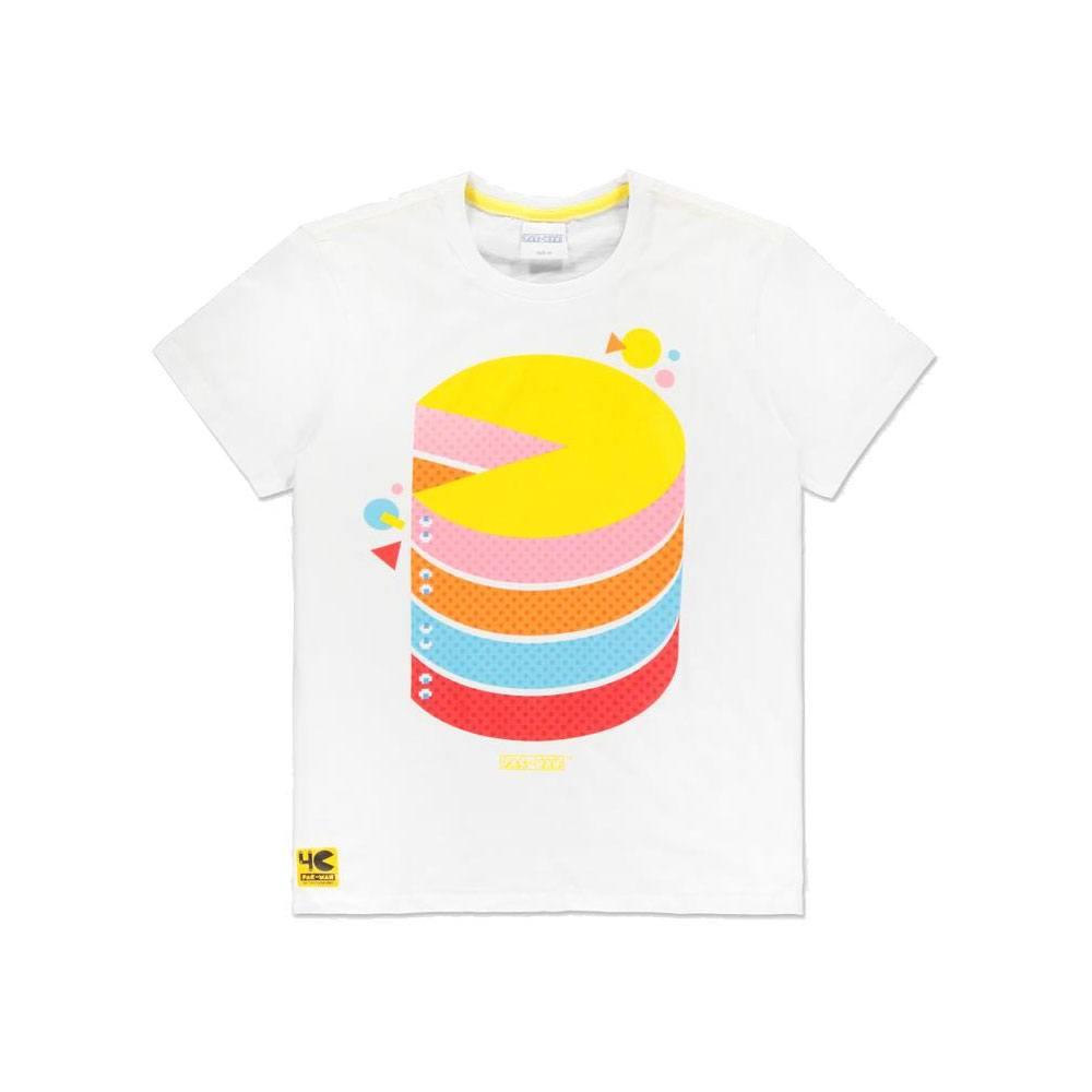 Pac-Man T-Shirt Pie Chart Size L